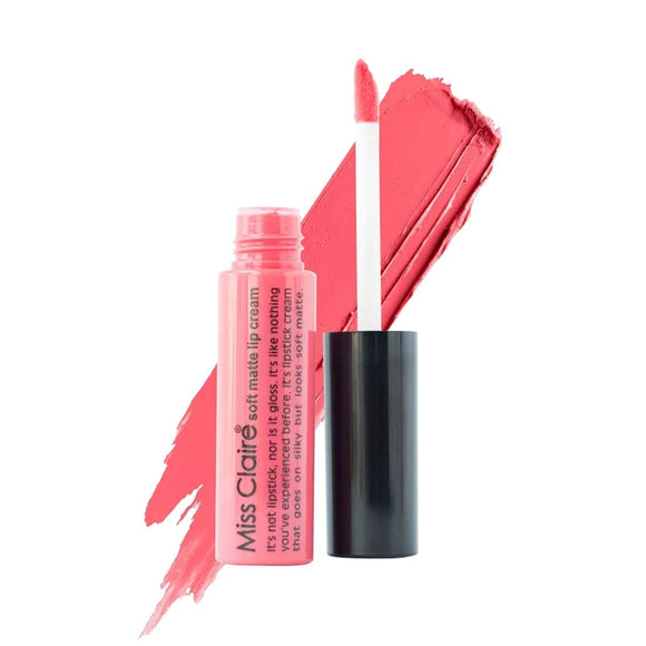 Miss Claire Soft Matte Lip Cream, 50 Orange, 6 g - shoper2shoper.com
