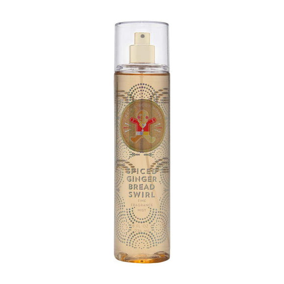 Bath & Body Works Spiced Gingerbread Swirl, Fine Fragrance Mist, 8 Ounce - shoper2shoper.com