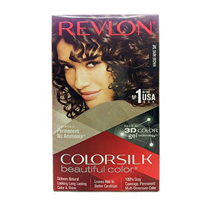 Revlon ColorSilk 3N Dark Brown Hair Color - 100ml - shoper2shoper.com