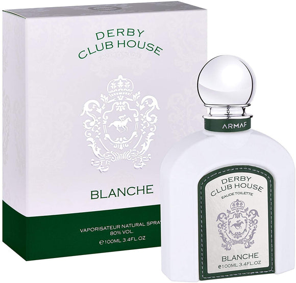 Armaf Derby Club House Eau De Toilette Blanche Vaporisateur Natural Spray (100ml) - shoper2shoper.com