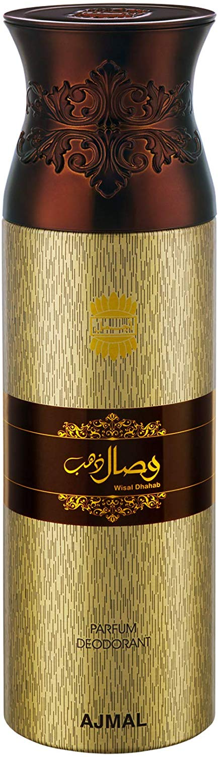 Ajmal Wisal Dhahab Deodorant For Man 200 ml - shoper2shoper.com