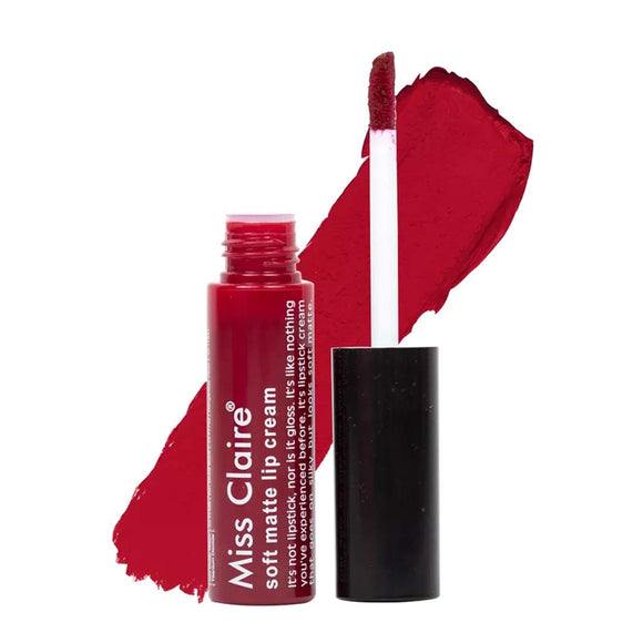 Miss Claire Soft Matte Lip Cream - Liquid Lipstick (Shade - 61) - shoper2shoper.com