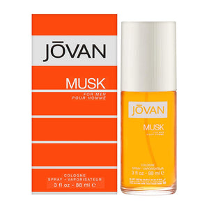 Jovan Musk Eau de Cologne for Men, 88ml - shoper2shoper.com