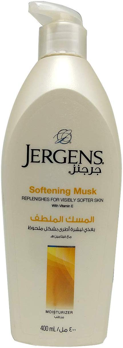 Jergens Lotion - Musk Moist, 400 ml - shoper2shoper.com