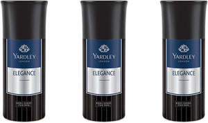 Amazeddeal Yardley London Elegance-3 Deo for Men Combo (Pack of 3) - shoper2shoper.com