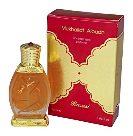 Rasasi Mukhallat Al Oudh Concentrated Perfume, 20ml - shoper2shoper.com