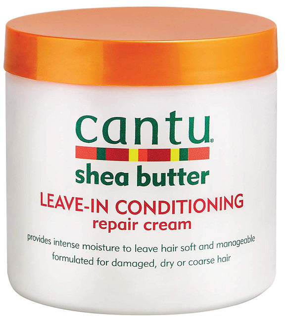 Cantu Shea Butter Leave-In Conditioning Repair Cream, 16 Ounce - shoper2shoper.com