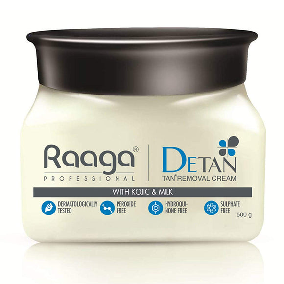 Raaga Professional De Tan with Kojic and Milk for Radiant Skin, 500g - shoper2shoper.com