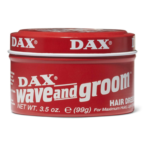 Dax Wave & Groom Hair Dress 3.5 Ounce Jar (103ml) - shoper2shoper.com