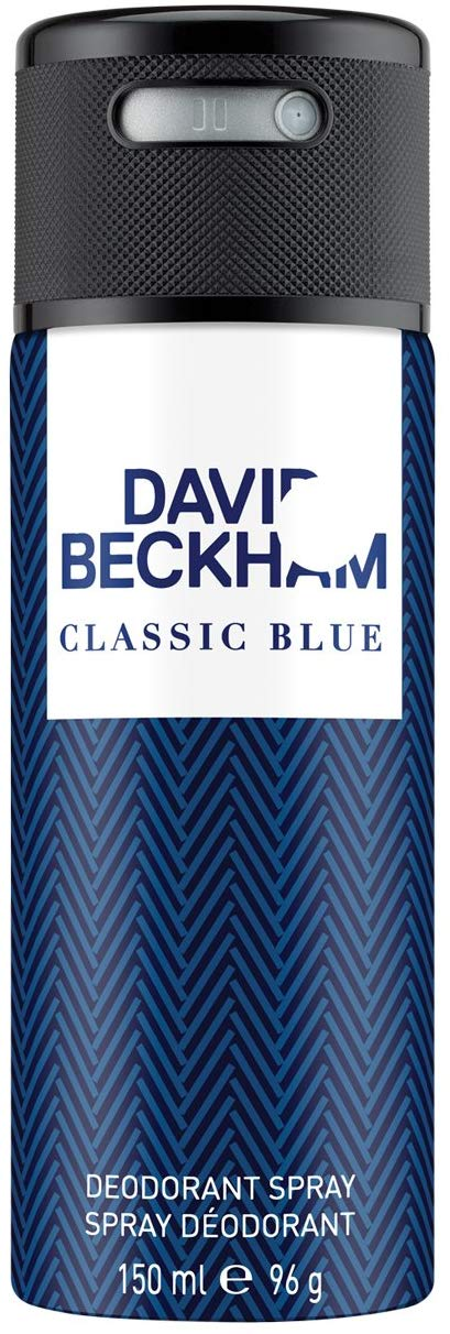 Beckham Classic Blue Deodrant Spray, 150 ml - shoper2shoper.com
