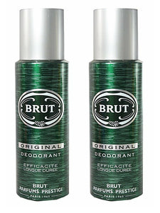 Brut Deodorant Spray For Men - (200 ml) - Pack Of 2 - shoper2shoper.com