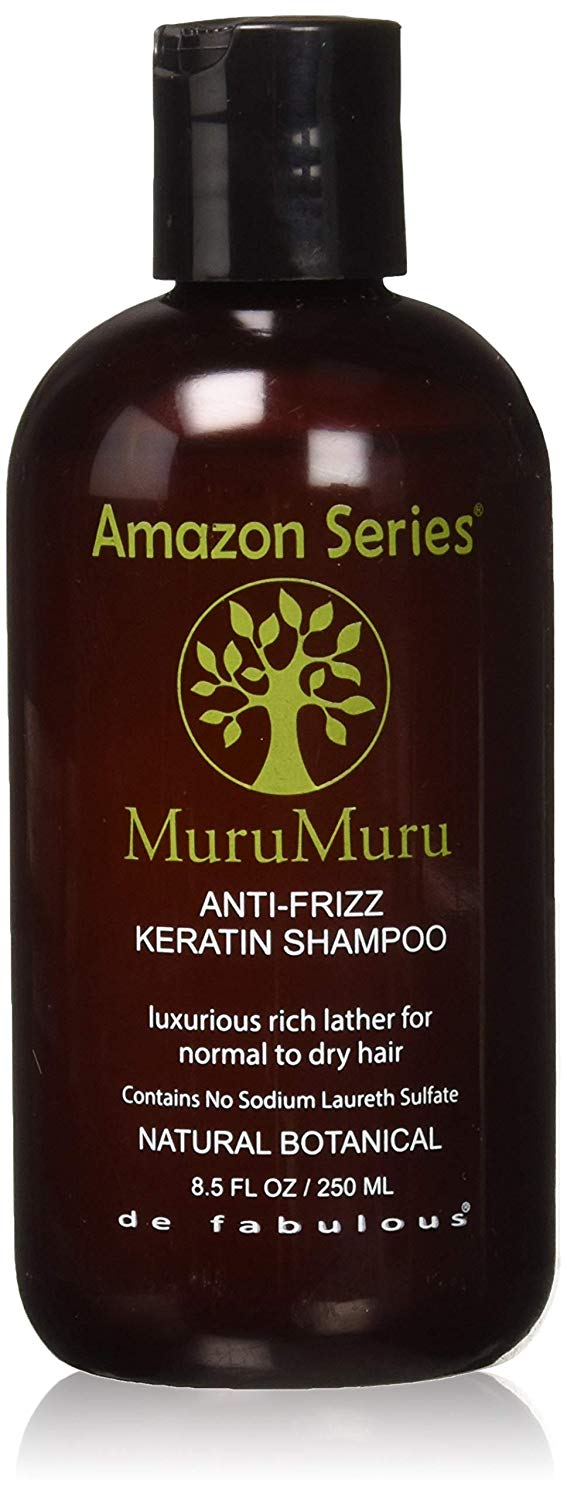 Amazon Series Murummuru Anti Frizz Keratin Shampoo, 250ml