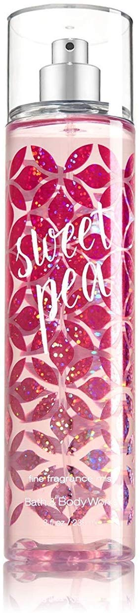 Bath & Body Works Sweet Pea Body Mist (8 oz) - shoper2shoper.com