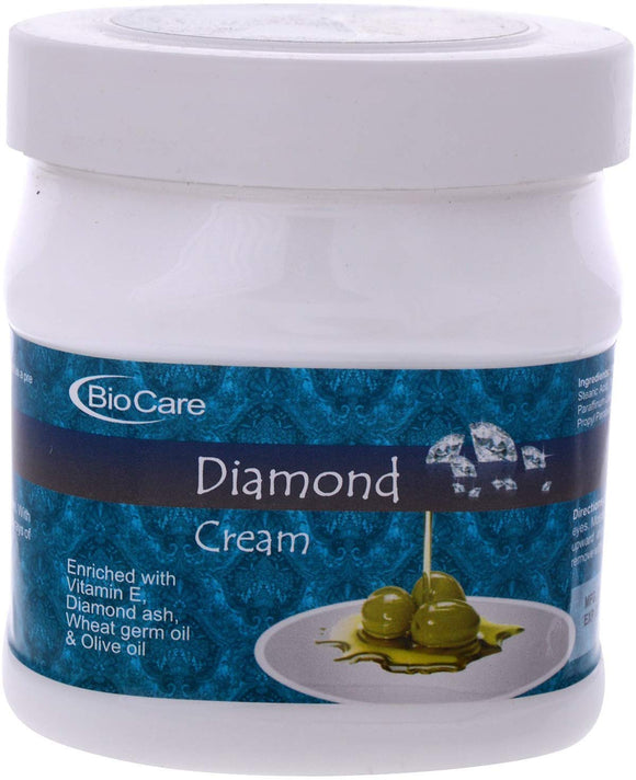 GemBlue Biocare Diamond Cream Enriched with Vitamin E, Wheat Germ and Olive Oil - shoper2shoper.com