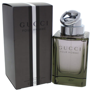 Gucci Eau de Toilettes Spray for Men by Gucci 3.0 Ounce 90 Ml EDT Spray - shoper2shoper.com