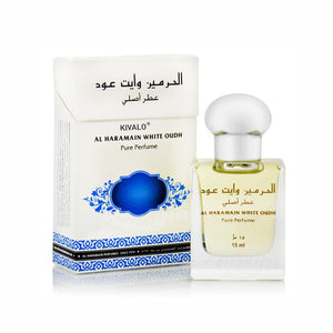 Al Haramain White Oudh Roll-on Attar, 15 ml - shoper2shoper.com