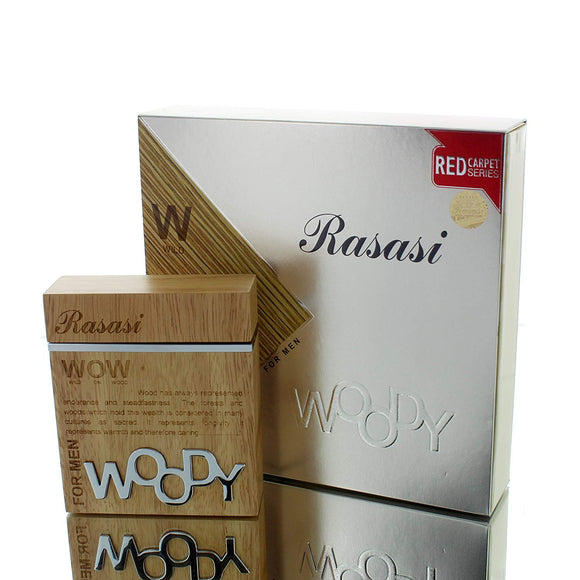 Rasasi WOW Woody Eau de Parfum for Men, 60ml - shoper2shoper.com