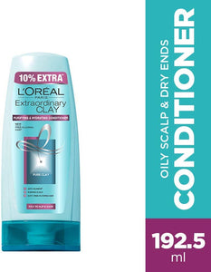 Loreal Paris Extraordinary Clay Conditioner, 175ml (With 10% Extra) - shoper2shoper.com