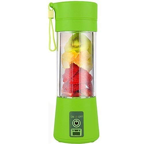 Portable Electric USB Juicer Bottle Blender Drink Bottle Cup (Multicolour) Juice Maker Machine - shoper2shoper.com