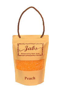 Jabs Moisturizing Bath Salt (peach) 400g - shoper2shoper.com