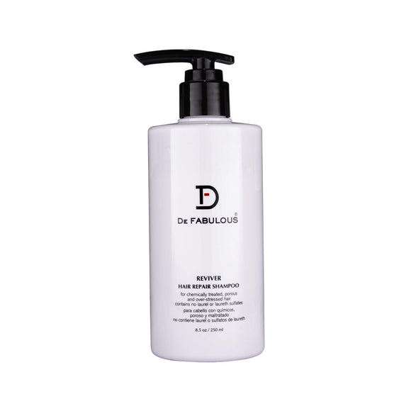 De Fabulous Reviver Hair Repair Shampoo - Sulfate Free (250 ml) - shoper2shoper.com