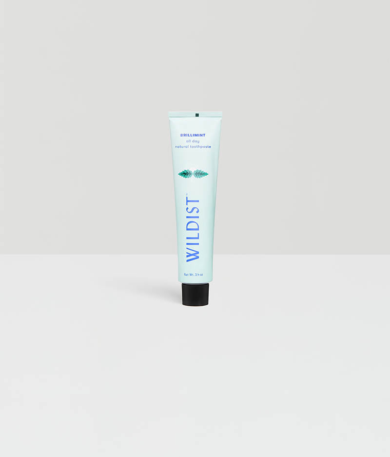 Wildist Natural Toothpaste, Brillimint
