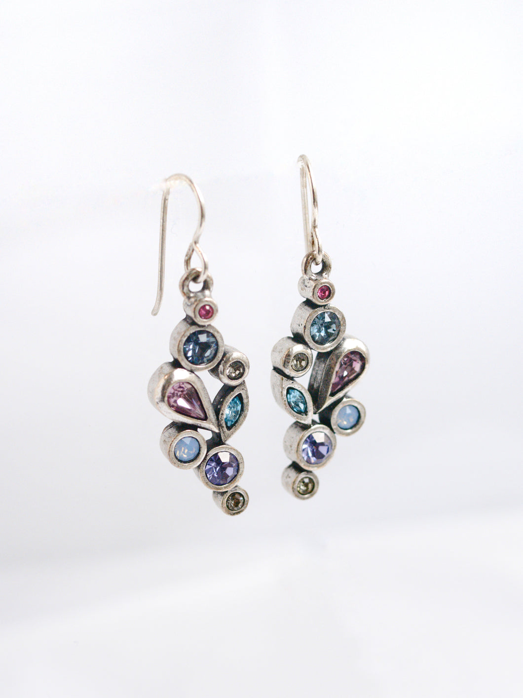 Waterlily Drop Earrings