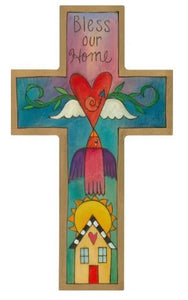 Blessings Cross Plaque