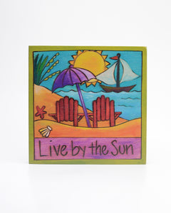 Beach Bums Plaque