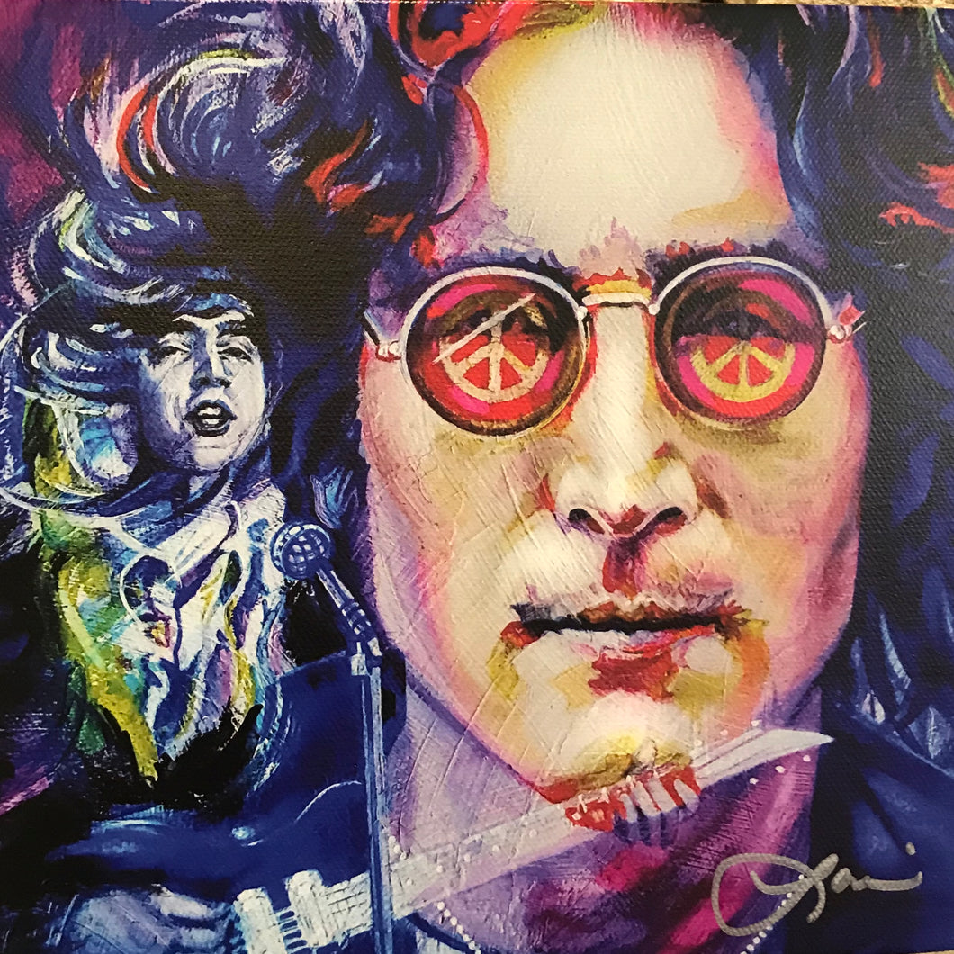 John Lennon by Loni Theisen
