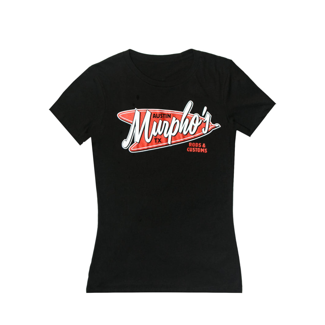 Women's Red Boomerang Shirt