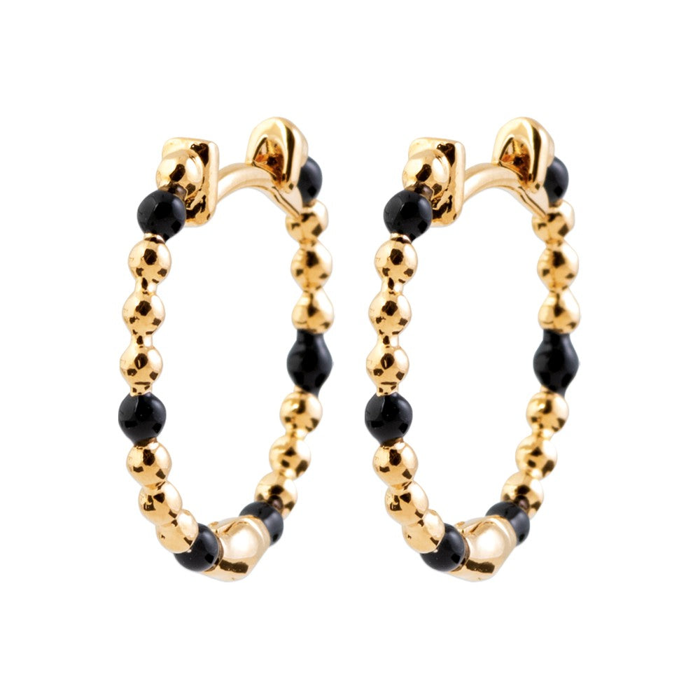 Creoles Earrings, Enemal