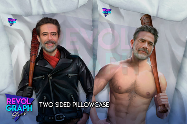 Dakimakura, Fullbody pillow case - Negan (The Walking Dead series) NSFW