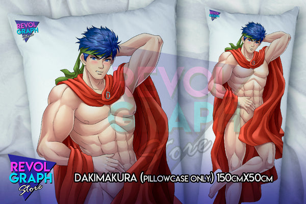 Dakimakura, Fullbody pillow case - Ike (Fire Emblem Path of Radiance) NSFW