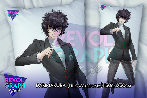 Dakimakura, Fullbody pillow case - Ren Amamiya/Joker (Persona 5)