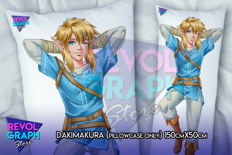Dakimakura Fullbody Pillow Case Link Champion Costume Gerudo S Female Costume Loz Breath Of The Wild