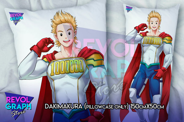 Dakimakura, Fullbody pillow case - Mirio Togata (Boku no Hero/My Hero Academia) NSFW