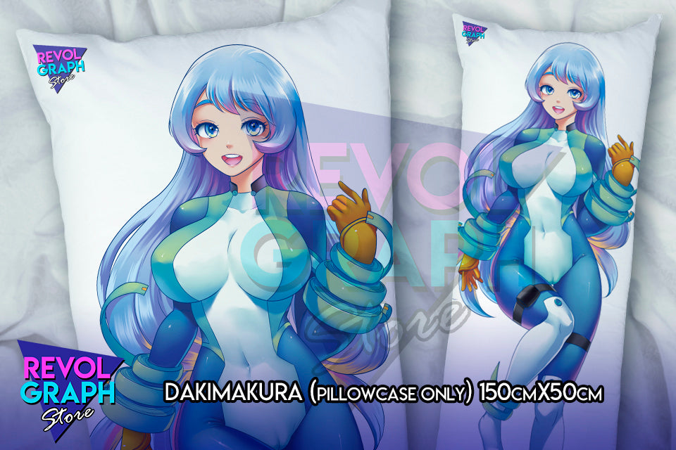 Dakimakura, Fullbody pillow case - Nejire Hadou (Boku no Hero/My Hero Academia)