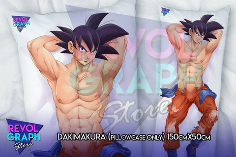Dakimakura, Fullbody pillow case - Goku normal version (Dragon Ball Z)