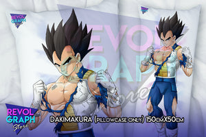 Dakimakura, Fullbody pillow case - Vegetta normal version (Dragon Ball Z)