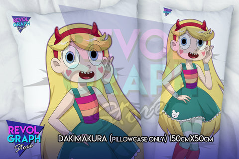 Dakimakura, Fullbody pillow case - Star Butterfly (Star vs tFoE)