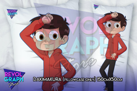 Dakimakura, Fullbody pillow case - Marco Diaz (Star vs tFoE)