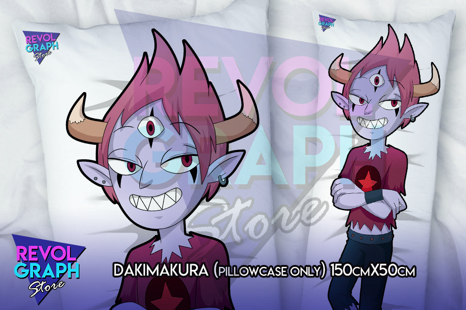 Dakimakura, Fullbody pillow case - Tom Lucitor (Star vs tFoE)