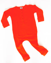 Load image into Gallery viewer, CHILDRENS UNISEX ROMPER | TANGERINE TANGO