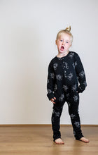 Load image into Gallery viewer, CHILDRENS UNISEX ROMPER  | MONOCHROME RHINO PRINT