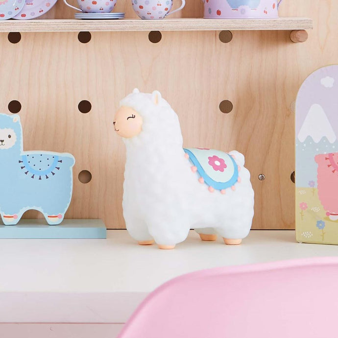 llama childrens night light from sass & belle