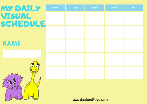 Daliland visual schedule