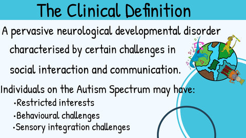Autism definition clinical