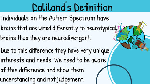 Autism definition Daliland
