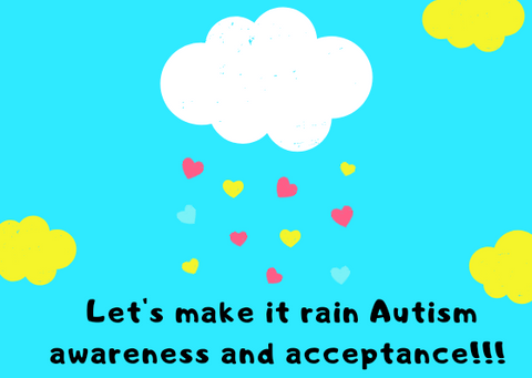 Raining autism awareness and acceptance